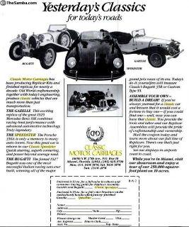 [WTB] 356 Porsche Fiberglass Replica Body/Front Clip
