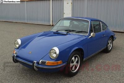 1969 Porsche 911S Coupe Survivor