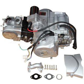 Find Go Kart Quad ATV 125cc Engine Motor Auto w/Reverse fit 50cc 70cc 90cc 110cc motorcycle in South El Monte, California, US, for US $265.00