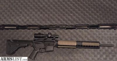 "For Sale: AR15 20"" upper"