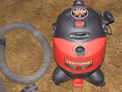 Craftsman Wet Dry Vac 8 Gallon