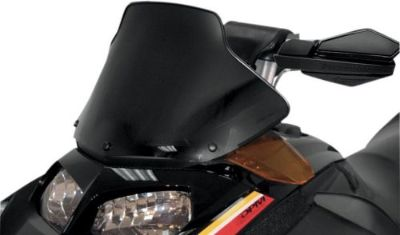 """Sell POWERMADD/COBRA 13030 WINDSHIELD 11"""" BLK SKI motorcycle in Plymouth, Michigan, United States, for US $82.60"""