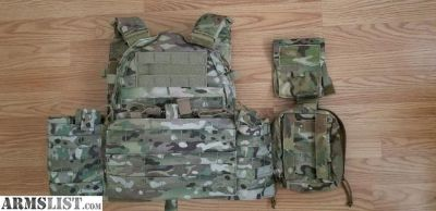 For Sale: Advanced Warfighting Solution (AWS) Operator Choice Plate Carrier.