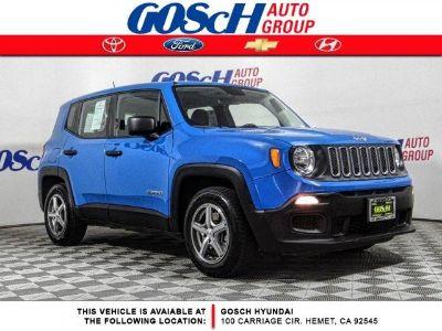 2015 Jeep Renegade Sport (Sierra Blue)