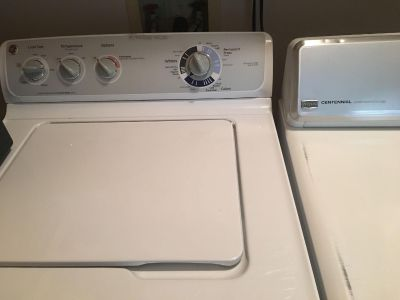 Washer and Dryer..GUC..Must pick up in West Mobile.