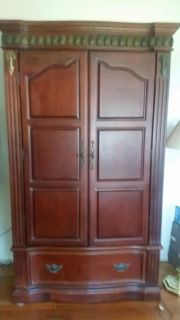 French armoire/entertainment center