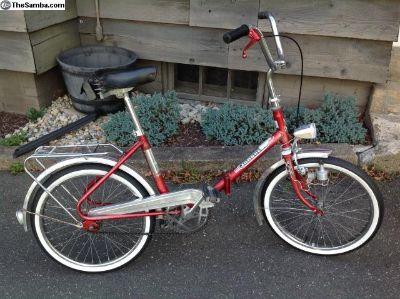 Vintage Jungherz German built folding bicycle