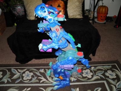 Fisher Price Imaginext 2.5 ft Ultra Ice T-Rex Action Figure Dinosaur