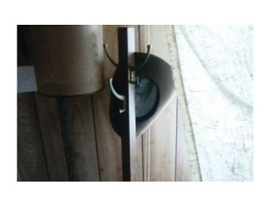 ANTIQUE COAT/HAT RACK FOR ENTRYWAY, NARROW UPRIGHT, ...