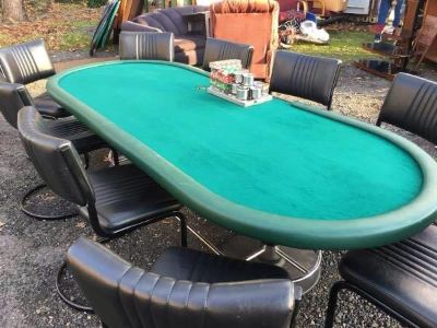 9' Proffesional Card and Game Table