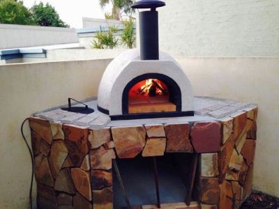 AD70 Amalfi Wood Fired Pizza Oven