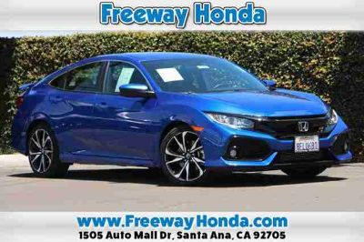 Used 2018 Honda Civic Si Manual w/High Performance Tires