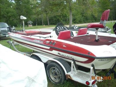 1991 18ft Stratos Bass Boat