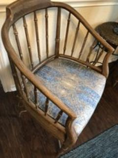 chairs. 2 matching. upscaled. $175 for both.