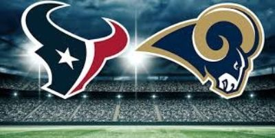 pre-season between the Houston Texans and the L. A. Rams on Thursday August 29th at 7:00 PM.