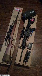 For Trade: AR 15/ Bolt Action 308