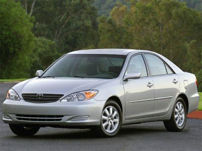 2002 Toyota Camry LE V6 (Desert Sand Mica)