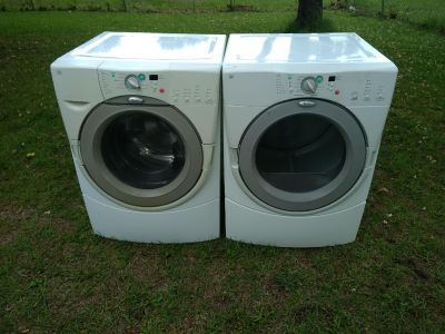 2013 Whirlpool duet front load washer and dryer