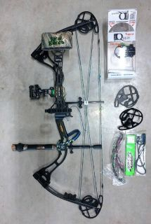 Left Hand New Breed Genetix compound bow 60 lbs. package set-up
