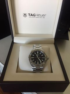 Brand New In Box: Men s Tag Heuer Swiss-Made Aquaracer Watch