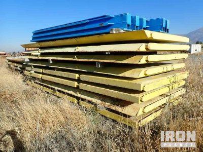 Slide Rail Trench Shoring System