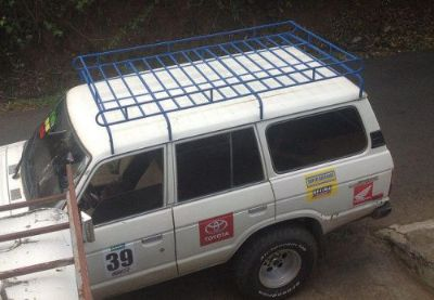 Sell FJ60, FJ40 , BJ40 , Long Safari Land Cruiser Roof Rack w/ Mounting Hardware motorcycle in Kissimmee, Florida, United States, for US $995.00