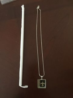 New Orleans Saints Necklace from Metry Chick - new