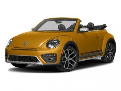 2018 Volkswagen Beetle Convertible Dune (Sandstorm Yellow Metallic/Black Roof)