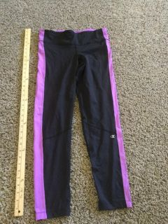 Champion brand women s size Large running pants, yoga pants, in GUC, $4.00