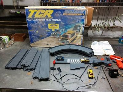 TCR total control racing slotless track-real passing game