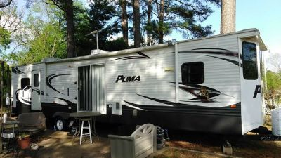 By Owner! 2014 39ft. Palomino Puma Park Model w/2 slides