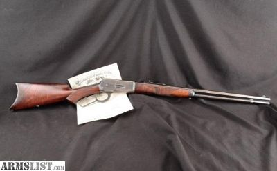 For Sale: Winchester Model 1886 Deluxe Fancy Wood .45-70