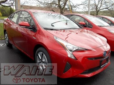 2018 Toyota Prius three (Hypersonic Red)