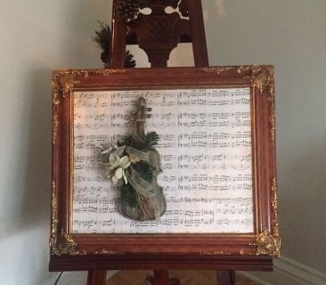 Beautiful wood picture frame