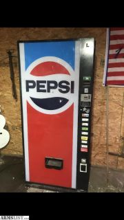 For Sale/Trade: Soda Machine/Safe