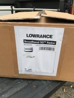Brand New Lowrance/Simrad 3G radar - Sold