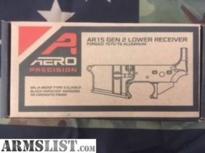 For Sale: Aero Precision AR15 Gen 2 Stripped Lower