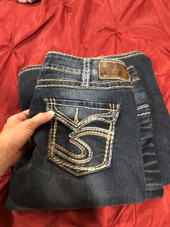 Silver tab jeans