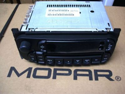 Sell NEW MOPAR RADIO AM/FM CD W/ EQ OEM 5091506AG motorcycle in Plymouth, Pennsylvania, United States