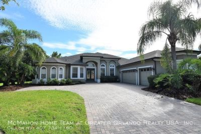 5br 3.5ba POOL HOME in Live Oak Reserve in OVIEDO!! Over 3100 sq/ft.. Pool & Lawn care included.