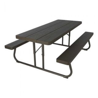 Lifetime Foldable Outdoor Picnic Table