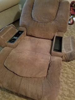 Recliner, vibration chair.