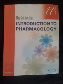 Introduction to Pharmacology 11th Ed.