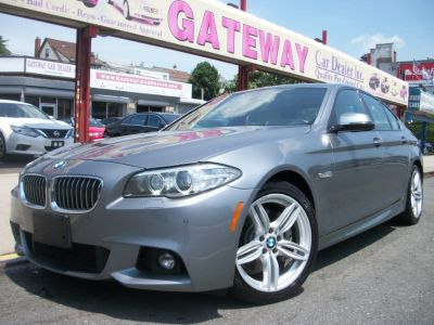 2015 BMW 5-Series 4dr Sdn 535i xDrive AWD (Callisto Gray Metallic)