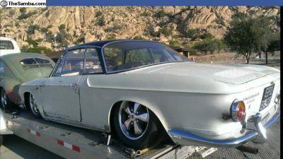 RHD 1964 type 34 razor ghia
