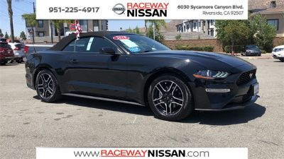 2018 Ford Mustang EcoBoost Premium (Black)