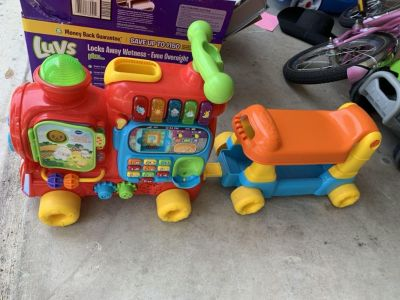 Vtech push and ride toy