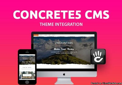 I Will Create Concrete5 Website Or Custom Packages For You