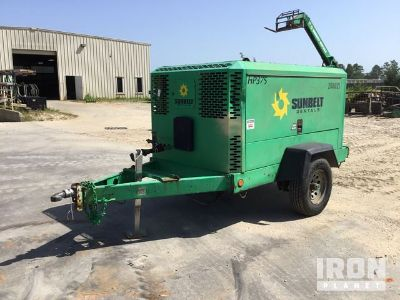 2010 Doosan HP375WIR-T3 Air Compressor