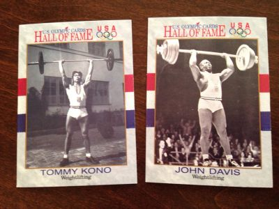 Olympic Weightlifting Cards